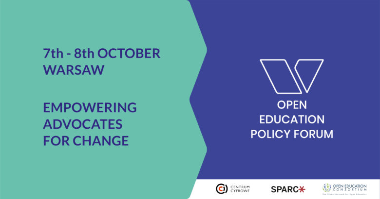 Open Education Policy Forum 2019 – Open Educational Resources Policy