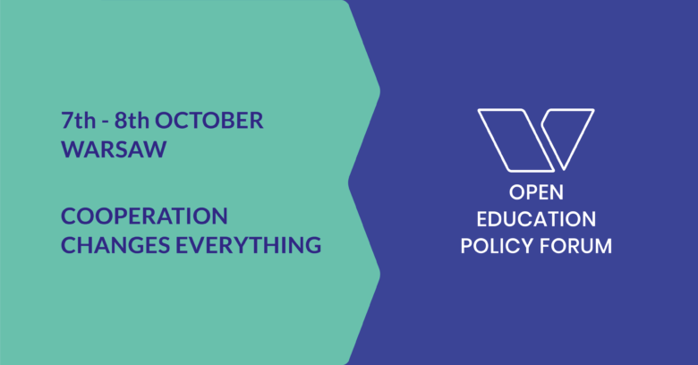 Open Education Policy Forum 2019